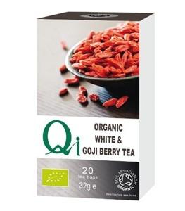 Tè Bianco Cinese alle Goji