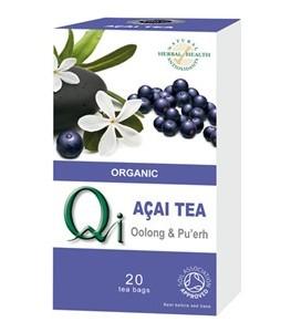 Tè Oolong e Pu'erh con Bacche di Acai