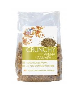 Crunchy con Avena e Canapa Bio